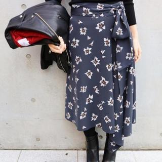 IENA - 新品タグ付きイエナ フラワープリントアシメントリースカート