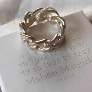 マルタンマルジェラ(Maison Martin Margiela)の【定価6万円】マルタンマルジェラ シルバーリング Mサイズ 20号(リング(指輪))