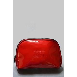 CHANEL - red3 わけあり新品未使用本物 シャネル  非売品ポーチ