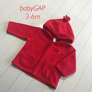babyGAP - babyGAP   フリースパーカー  3-6m