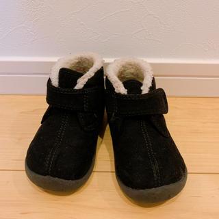 ムジルシリョウヒン(MUJI (無印良品))の無印良品 黒 ムートンブーツ(ブーツ)