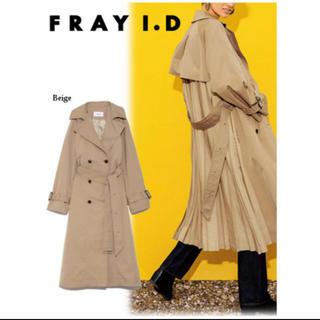 フレイアイディー(FRAY I.D)のFRAY I.D バックプリーツトレンチ(トレンチコート)