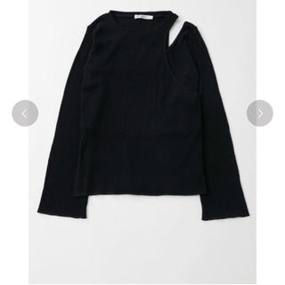 moussy - MOUSSY ASYMMETRY LAYEREDトップス