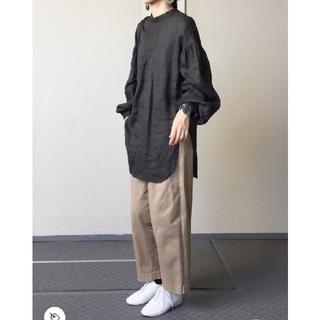 FRAMeWORK - FRAMeWORK  【金子綾×FRAMeWORK】マオカラーロングシャツ2◆