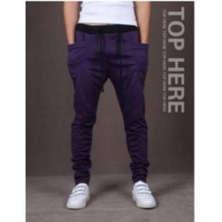 ジョガーパンツ パープル 紫 XLサイズ スポーツ ジョギング スエットパンツ(その他)