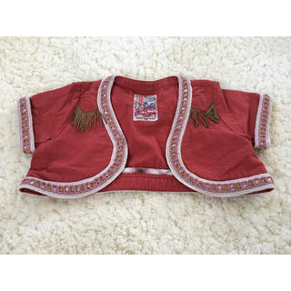 ブーフーウー(BOOFOOWOO)のブーフーウー☆お洒落なウエスタン風ショートジャケット♪110サイズ(ジャケット/上着)