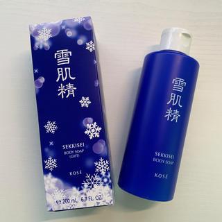 コーセー(KOSE)のKOSE雪肌精 ボディソープ 200 ml(ボディソープ / 石鹸)