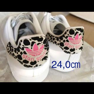 adidas - 24,0㎝ スタンスミス ピンク アニマル柄 EG2668