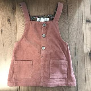 ZARA KIDS - zara baby コーデュロイオーバースカート 74cm