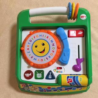 フィッシャープライス(Fisher-Price)のフィッシャープライス ラーニングスマートステージ バイリンガルDJプレイヤー(知育玩具)