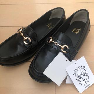 シマムラ(しまむら)の最終値下げ プチプラのあや ローファー  L(ローファー/革靴)