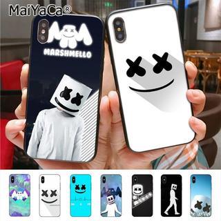 Marshmello iPhone Galaxy スマホ ケース マシュメロ
