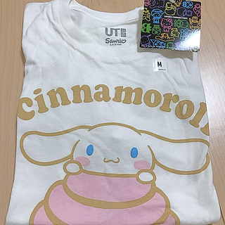 シナモロール - シナモロール シナモン サンリオ  ユニクロ Tシャツ ホワイト 新品