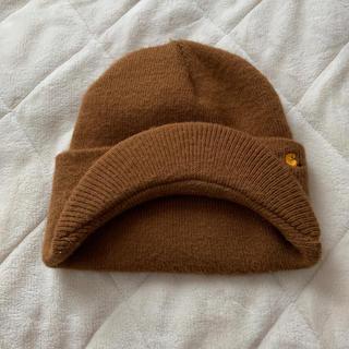 カーハート(carhartt)のcarhartt  つば付きニット帽(ニット帽/ビーニー)
