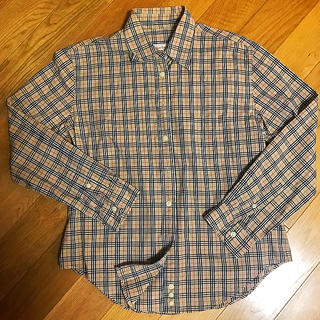 BURBERRY - バーバリーチェックシャツ Mサイズ