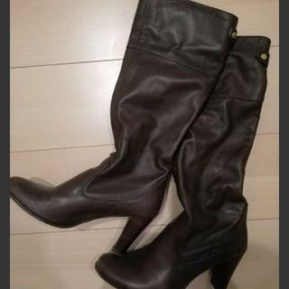 ガリャルダガランテ(GALLARDA GALANTE)のレザーブーツ ガリャルダガランテ ダークブラウン(ブーツ)