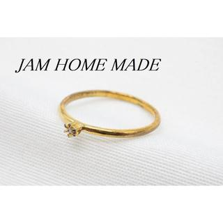【R980】JAM HOME MADE ダイヤモンド リング 8号(リング(指輪))
