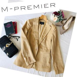 エムプルミエ(M-premier)のエムプルミエ♡ジャケット 美品 テーラード レディース スーツ アウター ベロア(テーラードジャケット)