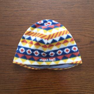 モンベル(mont bell)の《再お値下げ》子供用帽子 montbell フリース(帽子)