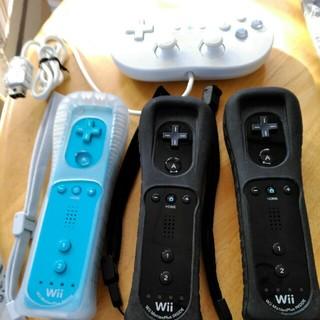 ウィー(Wii)のwii リモコン3、コントローラ1(その他)
