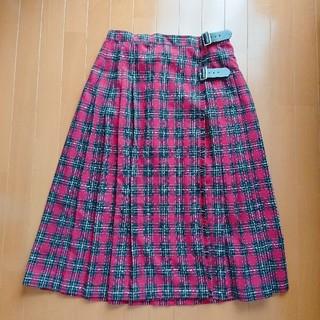 サマンサモスモス(SM2)のサマンサモスモス SM2 チェック柄ラップスカート(ロングスカート)