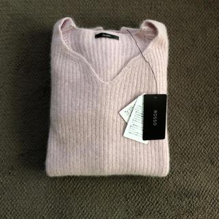 URBAN RESEARCH ROSSO - アーバンリサーチロッソ・ROSSO◆一度着美品◆ハートニット片畦ニット・セーター