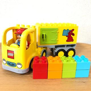 Lego - 正規品 レゴデュプロ トラック トレーラー 10601