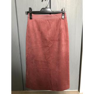 COCO DEAL - ココディール スエードタイトスカート