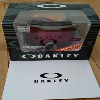 オークリー(Oakley)の新品未使用格安!オークリーゴーグルLINE MINER☆ASIANFIT(ウエア/装備)