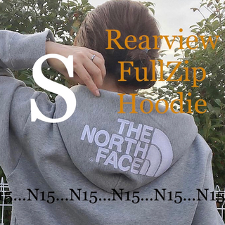 ザノースフェイス(THE NORTH FACE)の【S】ノースフェイス リアビューフルジップフーディー グレー NT11930(パーカー)