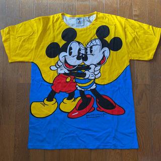 Disney - 未使用 ディズニー ミッキー ミニー メンズ Tシャツ M