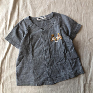 ピンクハウス(PINK HOUSE)のBABY PINK HOUSE くま 半袖カットソー 90(Tシャツ/カットソー)