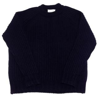 マルニ(Marni)のMARNI マルニ ニット セーター 46 ネイビー 紺 イタリア製 メンズ(ニット/セーター)