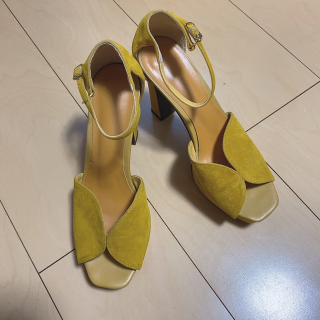 SLY(スライ)の完売商品 SLY   AMELIA HEEL SANDAL レディースの靴/シューズ(サンダル)の商品写真