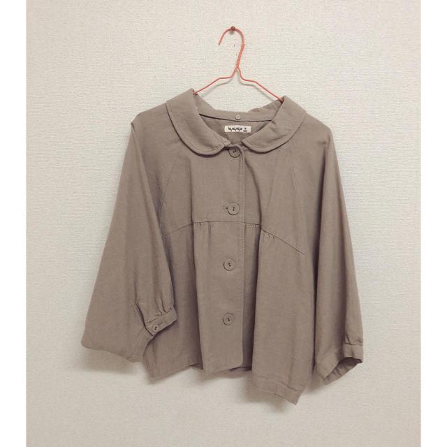 SM2(サマンサモスモス)のSM2 ドルマンスリーブコート レディースのジャケット/アウター(ブルゾン)の商品写真