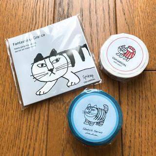 Lisa Larson - 新品 リサラーソン 付箋とマスキングテープ3点セット
