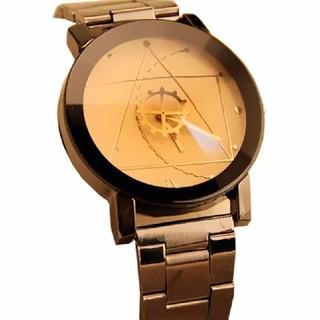 男性用 歯車デザインの腕時計