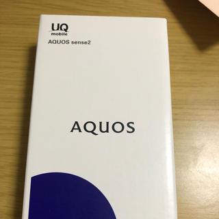 AQUOS - AQUOS sense2新品未開封