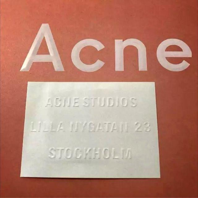 ACNE(アクネ)のAcne Studios 希少モデル マフラー ブラック レディースのファッション小物(マフラー/ショール)の商品写真