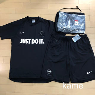 F.C.R.B. - 15AW fcrb DRI-FIT SS TOP AND SHORTS SET