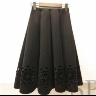 Chesty - フラワーカッティングスカート