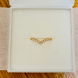 CZダイヤモンドリング ピンクゴールド(リング(指輪))