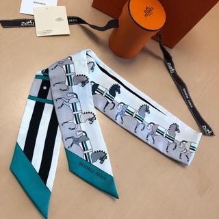 エルメス(Hermes)の2018AW HERMESエルメスツイリー新品「ロカバール」本日だけ出品(バンダナ/スカーフ)