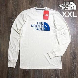 THE NORTH FACE - ノースフェイス L/S 長袖 Tシャツ(XXL)アイボリー 180902