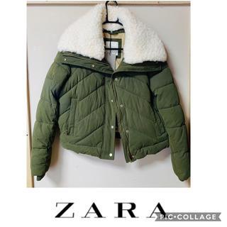 ZARA - 《SALE》 《新品》ZARA BASIC OUTER WEARボアダウン