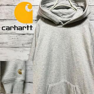 カーハート(carhartt)の【大人気】古着 carhartt カーハート ワンポイントロゴ パーカー M(パーカー)