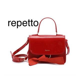 レペット(repetto)の【新品】repettoレペットショルダーバッグDouble jeu bag(ショルダーバッグ)