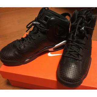 NIKE - Nike Air Jordan6 Retro Black Cat