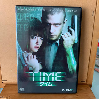 TIME タイム 洋画 DVD 映画