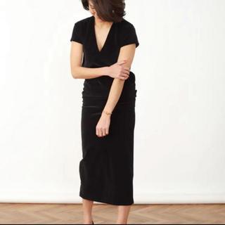 MADISONBLUE - マディソンブルー madisonblue ベロアタイトスカート